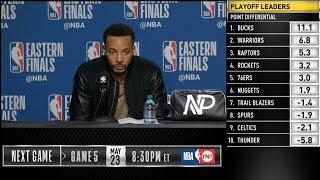 Norman Powell postgame reaction | Raptors vs Bucks Game 4 | 2019 NBA Playoffs