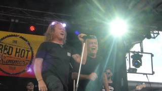 THE ANGELS  AND  JIMMY BARNES....TAKE ME AWAY@BENDIGO...26 MARCH 2016