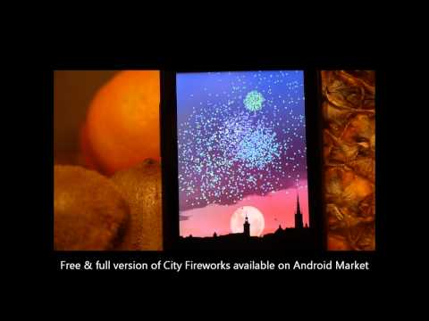 Video of City Fireworks Live Wallpaper