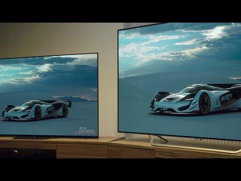 Sony OLED AF8 und Philips OLED 873 im Bildvergleich