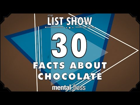 30 Facts about Chocolate - mental_floss on YouTube - List Show (304)
