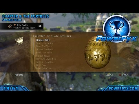 Uncharted 1: Drake's Fortune Remastered - All Treasure Locations & Strange Relic Mp3