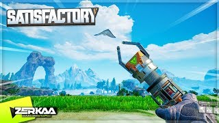 Landed On An Alien Planet To Build _____ (Satisfactory #1)