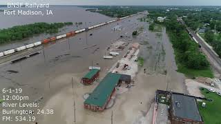 BNSF Rail Yard Flood