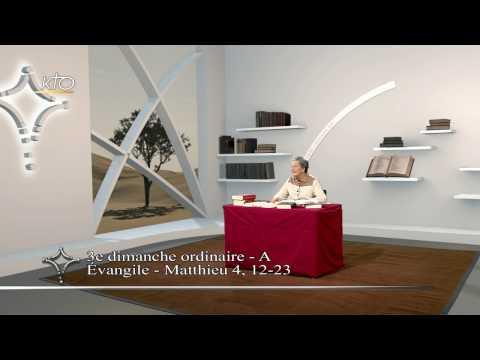3e dimanche ordinaire A - Évangile