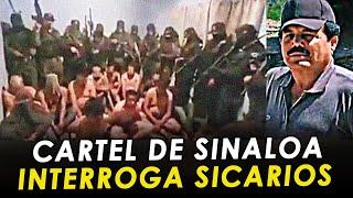 Cartel de Sinaloa interroga a 11 sicarios del CJNG en Zacatecas.
