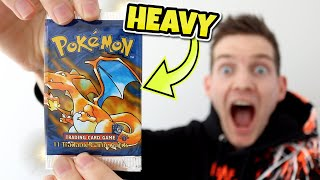 Opening a *HEAVY 1ST EDITION BASE SET* Pokémon Booster Pack!!!