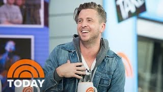 OneRepublic Frontman <b>Ryan Tedder</b> On Songwriting Touring With U2  TODAY