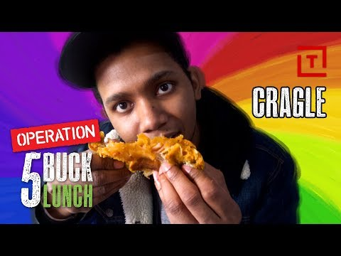 The Best Cheap Hybrid Food in NYC || Operation $5 Lunch
