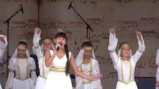 Диана Анкудинова (Diana Ankudinova) | Спасская башня детям | Красная площадь | Москва