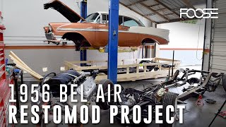Foose Design 1956 Bel Air Restomod Project - Part 1