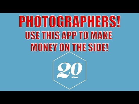 Photographers! Make Money On the Side With This App | Photography |  twenty20