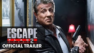 Escape Plan 2 (2018 Movie) Trailer - Sylvester Stallone, Dave Bautista, Curtis Jackson