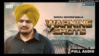Warning Shots Sidhu Moosewala Mp3 Song