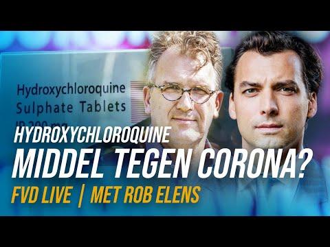 Een geneesmiddel tegen Corona? Hydroxychloroquine? - FVD Journaal
