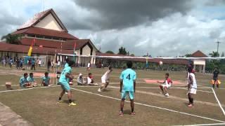 Peragaan Olahraga Bola Sundul (Heading Ball) Indonesia