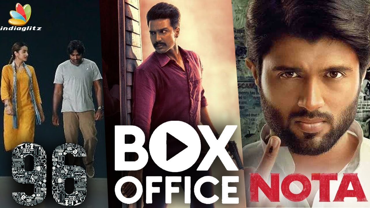 96 Vs Ratchasan Vs NOTA : Who Wins ? | Box Office Collection | Vijay Sethupathi