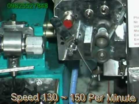 Semi Automatic Borkut Stick Making Machine