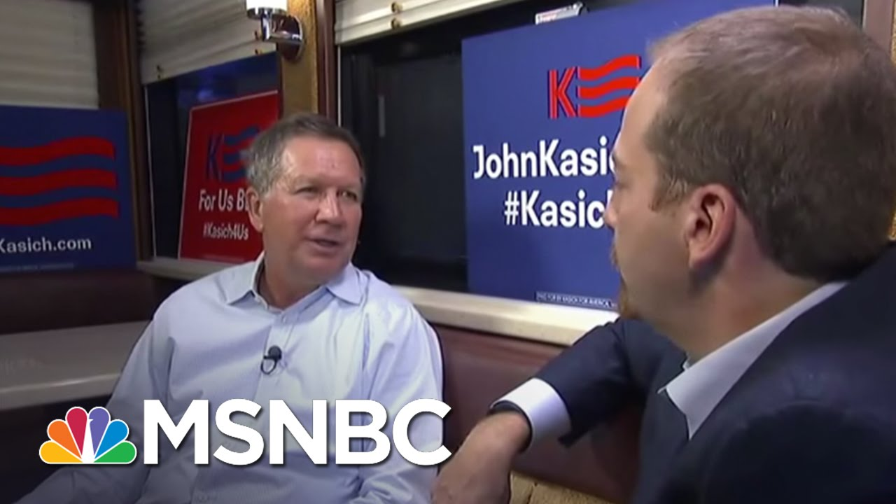 John Kasich: 'People Are Frustrated' | MTP Daily | MSNBC thumbnail