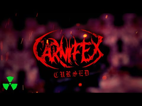 CARNIFEX - Cursed (isolation mix) (OFFICIAL LYRIC VIDEO)