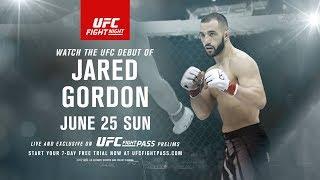 Fight Night Oklahoma City: Jared Gordon Earns UFC Opportunity