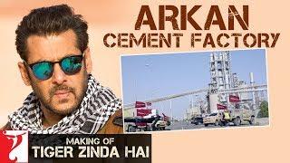 Making of Tiger Zinda Hai - Arkan Cement Factory | Salman Khan | Katrina Kaif | Ali Abbas Zafar | Kholo.pk