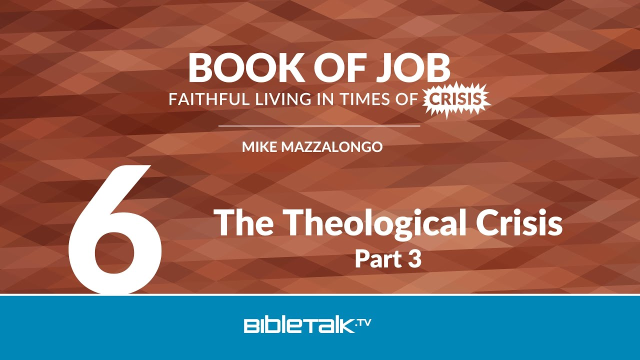 6. The Theological Crisis