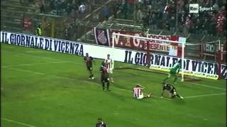 preview picture of video 'Serie B 2014-2015 - 13 ª giornata Vicenza vs Pro Vercelli'