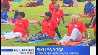 Wakenya watakiwa kushiriki yoga