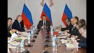 Юрий Трутнев провел совещание по развитию Хабаровского края