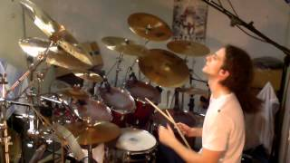 "Stoned in Love - Chicane feat Tom Jones - Drum Cover by Andrea ""Andrew Spring"" De Carolis"