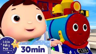 Choo Choo Train Song +Nursery Rhymes and Kids Songs | Little Baby Bum