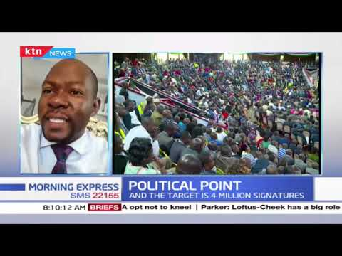 Political Point: Raila shuts door on BBI Negotiations; signature collection set to begin - part two