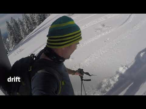 The Drift Boards — Approach Skis for Backcountry Snowboarding