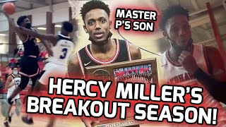 Master P's Son Hercy Miller Goes SHOWTIME To The STATE CHIP! Senior Season Mixtape 🔥