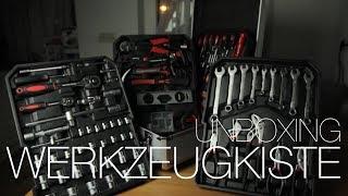 Preiswerte Werkzeugkiste - Unboxing