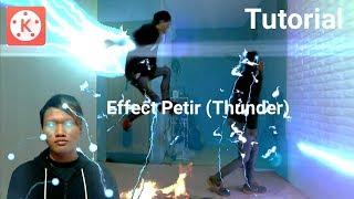 Tutorial cara membuat efek petir (Thunder) di Android | Kinemaster Pro