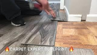 🔥🔪 Cut Vinyl Plank Flooring Like Sideshow Bob 🔪🔥