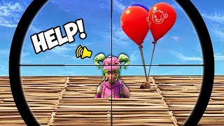THE BALLOON TRAP! - Fortnite Funny Fails and WTF Moments! #371