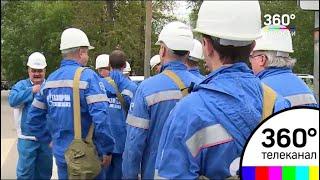 На столичном нефтеперерабатывающем заводе побывали подмосковные экологи