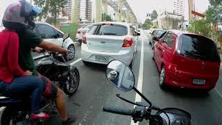 Pop 110i 2018 Acelerando Na Marginal Pinheiros !