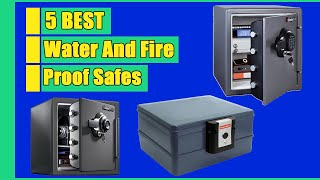 Top 5 Best Fireproof Safes in 2021 | Water and Fireproof Safes | Buying Guide