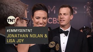 Emmys - Interview | Westworld - Jonathan Nolan & Lisa Joy