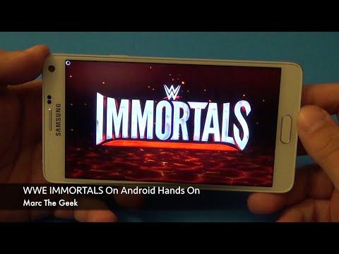 Vídeo do WWE Immortals