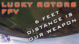 Corona Park Ripping - 6 feet Distance is our Weapon - FPV German Drone Freestyle & Racing