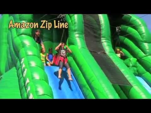 'Amazon' Inflatable Zipline | eInflatables