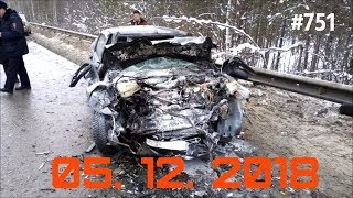 ☭★Подборка Аварий и ДТП/Russia Car Crash Compilation/#751/December 2018/#дтп#авария