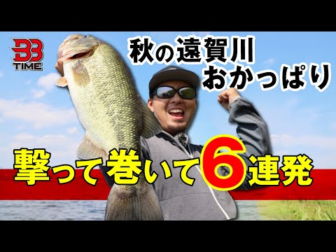 "【BBTIME】秋の遠賀川おかっぱり。撃って巻いて""今を釣る″バスの探し方|村上祥悟"