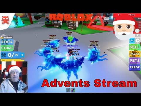 Ninja Legends med jer - Stream