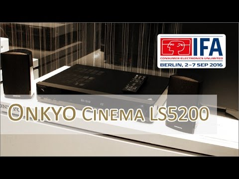 IFA 2016: Onkyo Envision Cinema LS5200 - 2.1 System